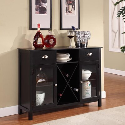 InRoom Designs Buffet Server / Wine Rack