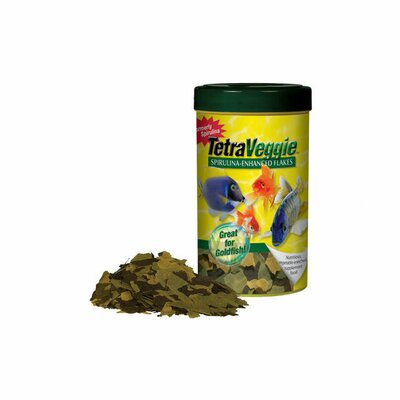 Tetra Spirulina Flakes Fish Food