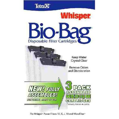 Tetra Whisper Bio Bag Filter Cartridge - 3 Pack