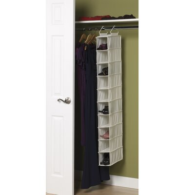 Household Essentials Storage and Organization 10 Pocket Hanging ...