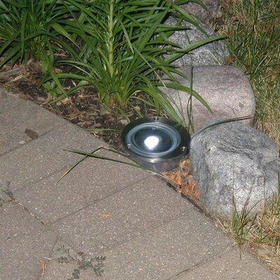 Smart Solar Solar Stainless Steel Step Light