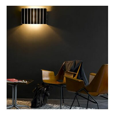 "Oluce Pin Stripe 2 Light 19.2""  Wall Lamp"