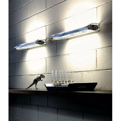Oluce Line Wall Lamp in Polished