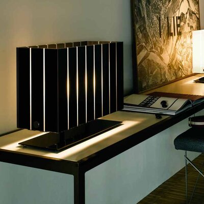 Oluce Pin Stripe Table Lamp