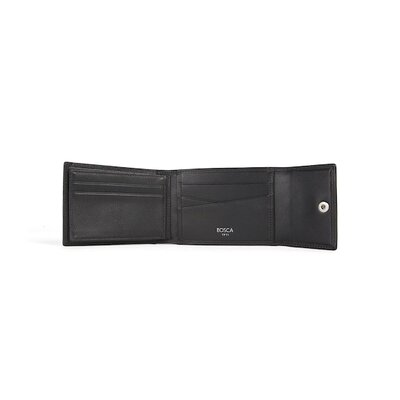Bosca Nappa Vitello Snap Wallet