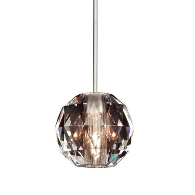 WAC Lighting Crystal Polaris Quick Connect Monopoint Pendant