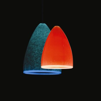 WAC Lighting Bullet Quick Connect Pendant Shade in Orange