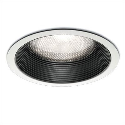 "WAC Lighting 6"" Line Voltage Recessed Trim with Step Baffle"