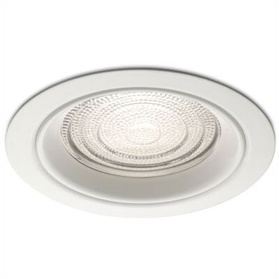 "WAC Lighting 5"" Line Voltage Recessed Trim for Showers with Regressed Fresnel Lens"