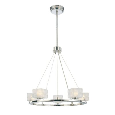 George Kovacs by Minka 5 Light Chandelier