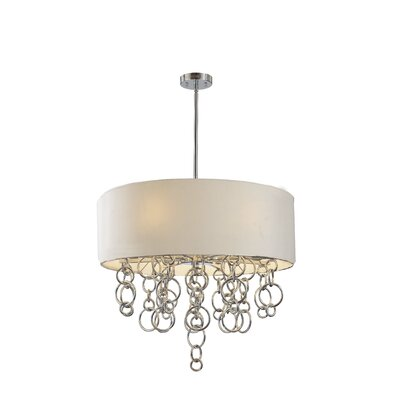 George Kovacs by Minka Ringlets 6 Light Drum Pendant