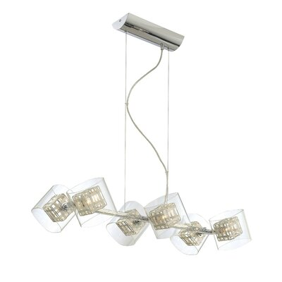 George Kovacs by Minka 6 Light Kitchen Island Pendant