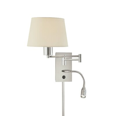 George Kovacs by Minka George's Reading Room Swing Arm Wall Sconce