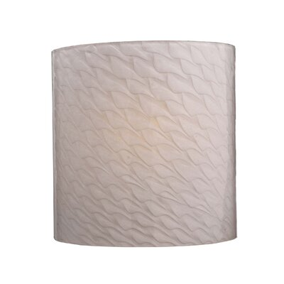 "George Kovacs by Minka 8.5"" Wall Sconce with Pearlescent Glass"