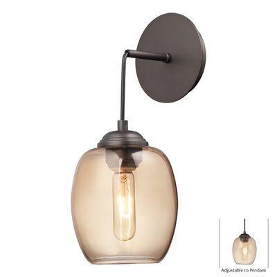 George Kovacs Bubble 1 Light Wall Sconce/Pendant