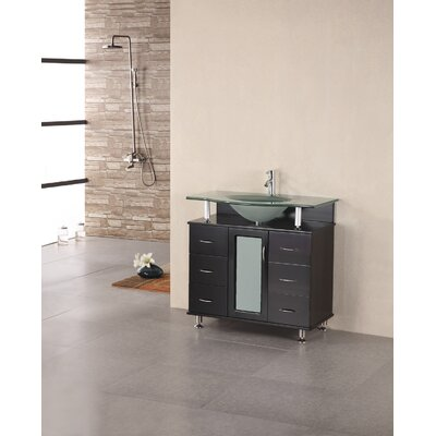 "Design Element Huntington 36"" Single Sink Vanity Set"