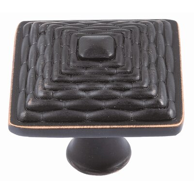 "Atlas Homewares 1.26"" Mandalay Square Knob"