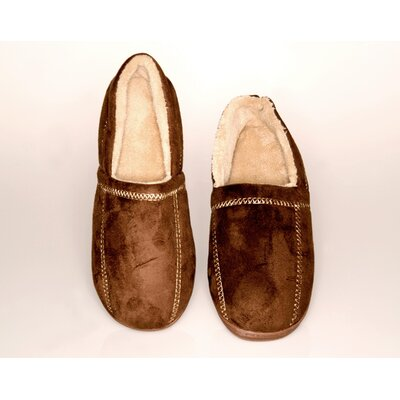 Deluxe Comfort Suede Fleece Men's Slipper
