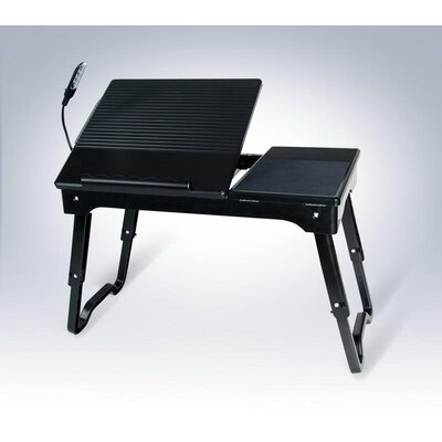 Deluxe Comfort Laptop Table Stand with Built-in LED