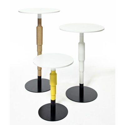 Minus Tio Cosmos Lamp Table in Lacquered Clear