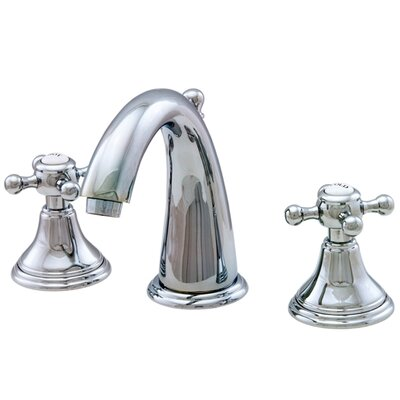 Water Creation Widespread Faucet with Double Cross Handles