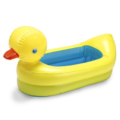White Hot Duck Tub in Yellow