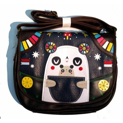 Crowded Teeth Panda-Roo Cross Body Bag