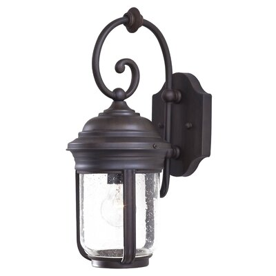 Great Outdoors by Minka Amherst Large Outdoor Wall Lantern