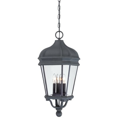 Great Outdoors by Minka Harrison 4 Light Outdoor Chain Hanging Lantern