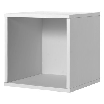 Foremost Modular Storage Open Cube in White