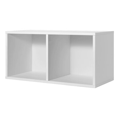 Foremost Modular Storage Large Divided Cube in White