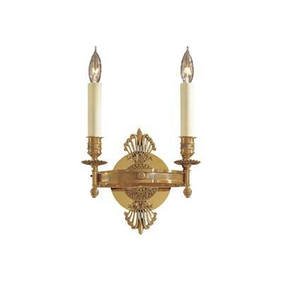 Metropolitan by Minka Vintage Two Light Candle Wall Sconce in ...