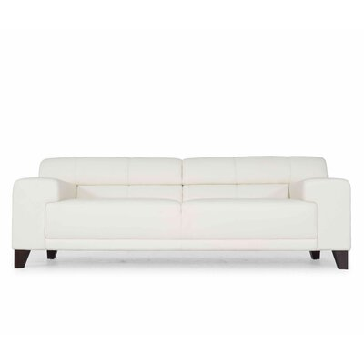 Hokku Designs Mah Jong Leather Sofa