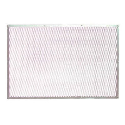 "Paderno World Cuisine 23.63"" Perforated Aluminum Pizza Baking Sheet"