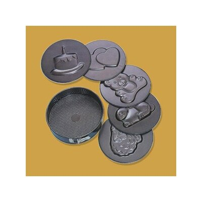 Paderno World Cuisine Non-Stick 6 Imprints Spring form