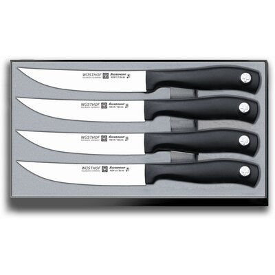 Wusthof Silverpoint II 4 Piece Steak Knife Set