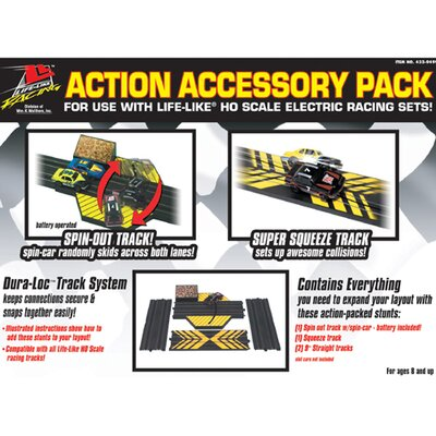 Life-Like Racing® Action Accessory Pack Racing Accessory