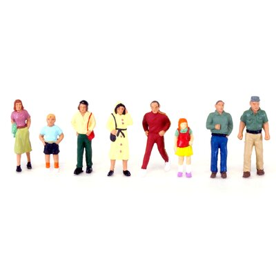 Life-Like Townspeople (Figures)