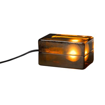 Design House Stockholm Block Lamp in Amber by Harri Koskinen