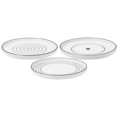 Design House Stockholm Bono Dessert Plates (Set of 3) by Catharina Kippel