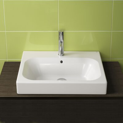 Bissonnet Universal Flex Ceramic Bathroom Sink