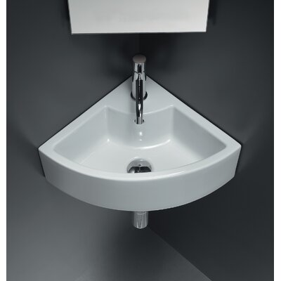 Area Boutique Ice Corner Ceramic Bathroom Sink - 20120