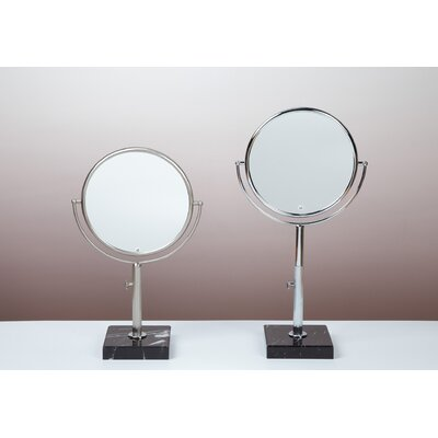 Bissonnet Kosmetic Astoria Mirror in Brushed Nickel