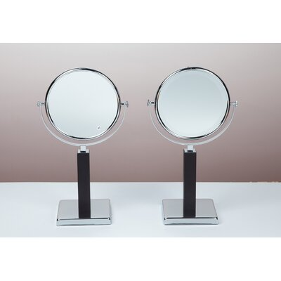 Bissonnet Kosmetic Elizabeth Mirror in Polished Chrome