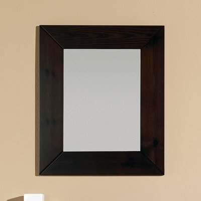 Bissonnet Nava Panticosa Wall Mirror in Wenge