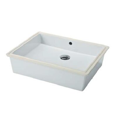 Bissonnet Traffic Slim Undermount Bathroom Sink