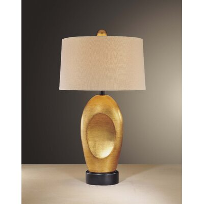 Minka Ambience Accent Table Lamp in Distressed Gold Leaf