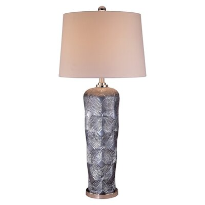 Minka Ambience Table Lamp in Gunmetal