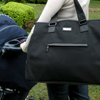 Modern Tote Bag in Black