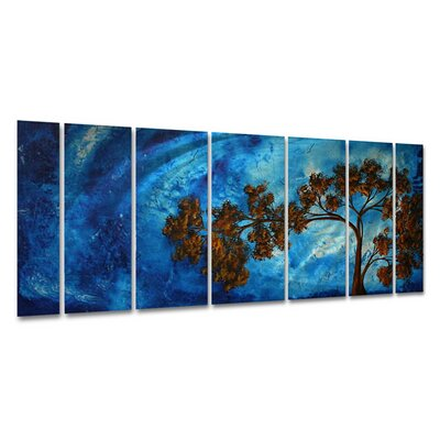 To The Sky Ii by Megan Duncanson, Abstract Wall Art - 23.5